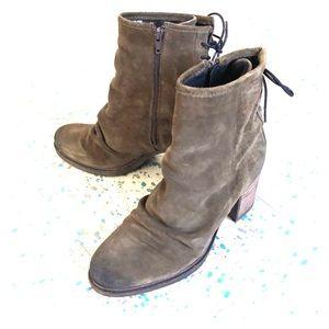 ⚜️SALE!⚜️ Barlow shearling-lined heeled booties